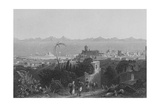 Rhodes, from the Heights, Near Sir Sidney Smith's Villa Giclee Print by William Henry Bartlett