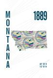 Montana Giclee Print by  J Hill Design