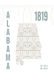 Alabama Giclee Print by  J Hill Design