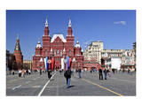 Red Square with State Historical Museum, Moscow, Russia Poster