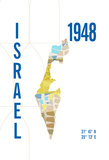 Israel Giclee Print by  J Hill Design