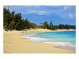 Baldwin Beach Park near Paia, Island of Maui, Hawaii, USA Prints
