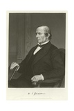 William Ewart Gladstone, British Liberal Politician Giclee Print by Alonzo Chappel