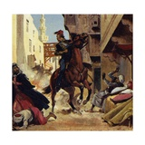 Gordon Managed to Hold the City of Khartoum for Ten Months Giclee Print by Alberto Salinas
