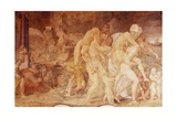The Twins of Catania, Anfinomo and Anapio Giclee Print by Rosso Fiorentino