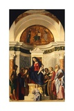 Madonna with Child and Saints Giclee Print by Giovanni Battista Cima Da Conegliano