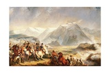 Battle of Rivoli, January 14, 1797 Giclee Print by Francois Gabriel Guillaume Lepaulle