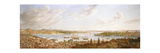 A View of Constantinople Overlooking the Bosphorous, 1770 Giclee Print by Antoine de Favray