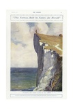 Guarding the White Cliffs of Old Albion, World War I Giclee Print by Philip Dadd