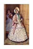 Miss Crocker Appeared, and Said She'D Come to Dinner Giclee Print by Harold Copping