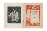 Frontispiece and Title Page for the Vampire Giclee Print by Sir Edward Coley Burne-Jones