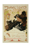Reproduction of a Poster Advertising 'Le Journal Des Ventes', 1897 Giclee Print by Georges de Feure