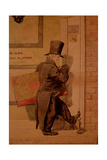 Sketch to Illustrate the Passions - Insignificance or Self Contempt, 1854 Giclee Print by Richard Dadd