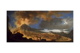 The Eruption of Vesuvius in 1767 Giclee Print by Pietro Antoniani