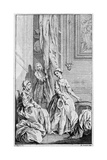 Illustration for 'Pamela', by Samuel Richardson, 1742 Giclee Print by Hubert Francois Gravelot