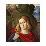 St Michael the Archangel Giclee Print by Girolamo da Santacroce