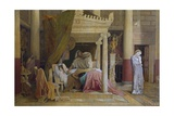 Stratonice or Antiochus' Illness Giclee Print by Jean-Auguste-Dominique Ingres