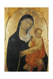 Madonna and Child, Ca 1325-1330 Giclee Print by Segna Di Bonaventura