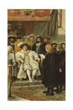 Inauguration of Charles V, Groningen, Netherlands, 1523 Giclee Print by Willem II Steelink