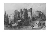 Remains of the Church of St John, Pergamus, Asia Minor Giclee Print by Thomas Allom