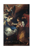 The Visit of the Empress Faustina to Saint Catherine in Prison Giclee Print by Lodovico Carracci
