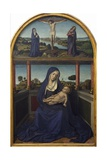 Madonna with Child, Detail from Triptych, 1485 Giclee Print by Jean Bourdichon