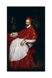 Portrait of Charles De Guise, Cardinal De Lorraine Giclee Print by  El Greco