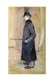 Portrait of Gaston Bonnefoy Lámina giclée por Henri de Toulouse-Lautrec