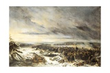 Retreat from Russia in 1812 Giclee Print by Nicolas-Toussaint Charlet