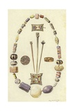 Objects from the Ancient Settlement of Dorestad, Netherlands Giclee Print by Willem II Steelink