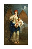 Allegory of the Night, Ca 1768 Giclee Print by Giuseppe Bonito