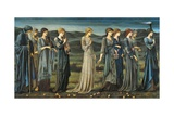 The Wedding of Psyche, 1895 Giclee Print by Edward Burne-Jones