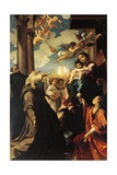 Madonna of Bargellinis, 1588 Giclee Print by Lodovico Carracci