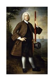 Portrait of Captain John Larrabee, 1760 Giclee Print by Joseph Badger