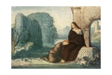 Music, When Soft Voices Die, Vibrates in the Memory Giclee Print by Robert Anning Bell