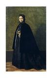 Portrait of Teresa Fabbini, Circa 1865 Giclee Print by Giuseppe Abbati