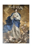 The Immaculate Conception, Circa 1645 Giclee Print by Bernardo Cavallino