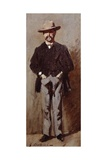 Portrait of Leopoldo Pisani, 1865 Giclee Print by Giovanni Boldini