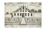 Former Villa Pisani in Stra, 1697 Giclee Print by Vincenzo Coronelli