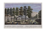 Ranelagh House and Gardens with the Rotunda, London, 1745 Giclee Print by Thomas Bowles
