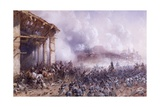 Battle of Solferino and San Martino, June 24, 1859 Giclee Print by Carlo Bossoli