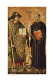 St James and St Giles, Circa 1450 Giclee Print by Jacomart Baco