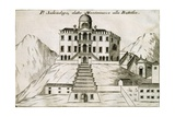 Villa Selvatico in Battaglia Terme, 1697 Giclee Print by Vincenzo Coronelli