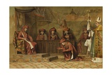 Grand Chapter of the Order of the Golden Fleece, 2 May 1456 Giclee Print by Willem II Steelink