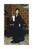 Portrait of Mary Donegani, 1869 Gicléedruk van Giovanni Boldini