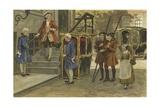 Sedan Chair and Sleigh, Netherlands, Mid 18th Century Giclee Print by Willem II Steelink