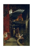 Organ and Choir of Toledo Cathedral Giclee Print by Georges Jules Victor Clairin