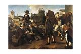 Market Scene Giclee Print by Giacomo Ceruti