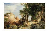 On the Berry Trail - Grand Canyon of Arizona, 1903 Giclee Print by Thomas Moran