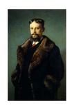 Portrait of Alfonso Serbatisti Giclee Print by Carlo Ademollo